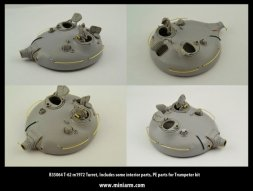 T-62 m1972 Turrret for Trumpeter 1:35