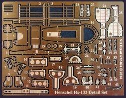 Henschel Hs-132 Detail Set for RS Models 1:72
