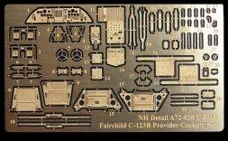 NH Detail Fairchild C-123B Provider Cockpit Set for Roden 1:72