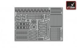 Armory KV-1, KV-2 detailing set 1:72