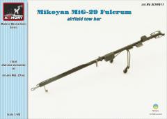 Armory MiG-29 airfield tow bar 1:48