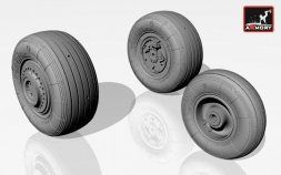 Su-25 Frogfoot wheels set 1:32