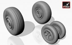 MiG-23ML/ MLA/ MLD/ P (late)/ UM wheels set 1:32
