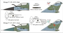 Mirage F1CR/CT - From Libya to Mali 1:48
