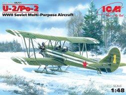 ICM Polikarpov U-2/ Po-2 Mule 1:48