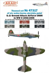 USSR Air Force WW II 1943-45 Il-2