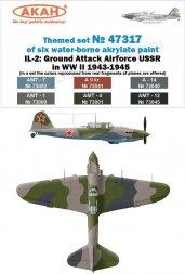 AKAN USSR Air Force WW II 1943-45 Il-2