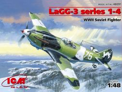 ICM LaGG-3 series 1-4 1:48