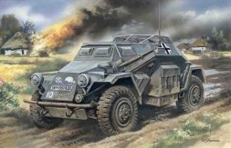 Sd.Kfz.260 German Radio Communication Vehicle 1:72