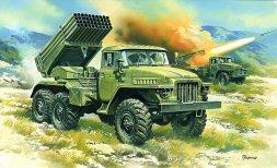 BM-21 Grad Multiple Launch Rocket System 1:72