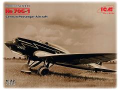 Heinkel He 70G-1 German Passenger Aircraft 1:72