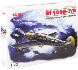 Messerschmit Bf 109E-7/B 1:72
