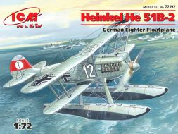 Heinkel He 51B-2 w/ Float 1:72