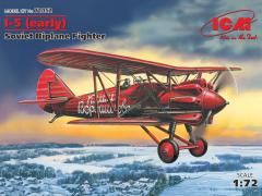 Polikarpov I-5 (early) - Soviet Biplane Fighter 1:72