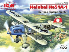 Heinkel He 51A-1 1:72