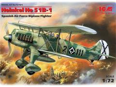 Heinkel He 51B-1 1:72