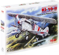 Ki-10-II Japan Army Biplane Fighter 1:72