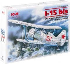 Polikarpov I-15bis - winter version 1:72