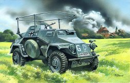 Sd.Kfz.223 German Radio Communication Vehicle 1:72
