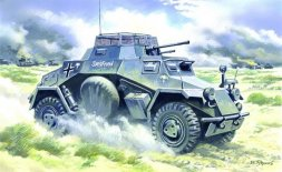 Sd.Kfz.222 German Light Armoured Vehicle 1:48