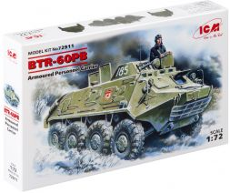 BTR-60PB Armoured Personnel Carrier 1:72
