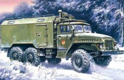 URAL-375A Command Vehicle 1:72