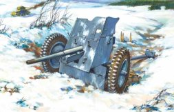3,7-cm-PaK 36 - WWII German Anti-Tank Gun 1:72