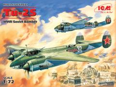Tupolev Tu-2S Soviet Bomber WWII 1:72