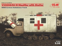 Ford V3000S/SS M Maultier with Shelter 1:35