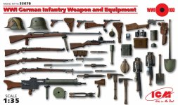 ICM WWI German Infantry Weapon and Equipment 1:35