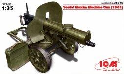 ICM Soviet Maxim Machine Gun (1941) 1:35