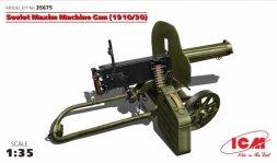 ICM Soviet Maxim Machine Gun (1910/30) 1:35