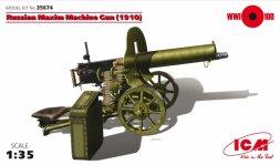 ICM Russian Maxim Machine Gun (1910) 1:35