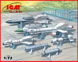 Soviet Air-to-Surface Aircraft Armament 1:72