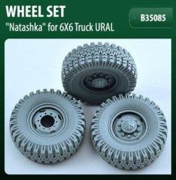URAL-375,4320 Wheels set O-47A Natashka 1:35