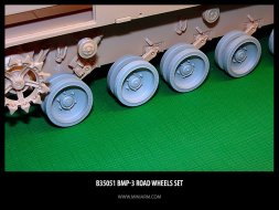 Miniarm BMP-3 Road Wheels set for Trumpeter 1:35