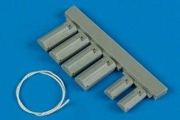 U.S.A.F. wheel chock with nylon thread 1:32