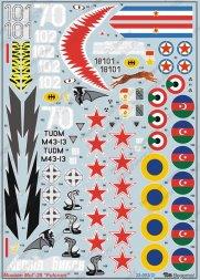 MiG-29 Fulcrum Part 1 1:32
