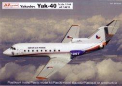 AZmodel Yakovlec Yak-40 Military CZAF, PL, ANGOLA 1:144
