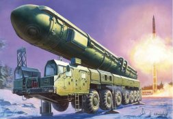 RT-2PM TOPOL ICBM 1:72