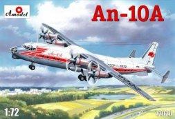 Antonov An-10 - Soviet paccenger aircraft 1:72