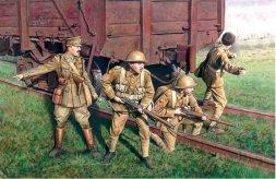 British Infantry 1917-1918 1:35