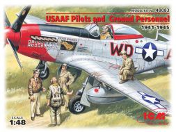 USAAF Pilots and Ground Personel 1941-1945 1:48