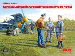 German Luftwaffe Ground Personnel 1939-1945 1:48