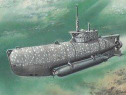 ICM U-Boat Typ XXVII B Seehund early 1:72
