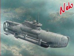 ICM U-Boat Typ XXVII B Seehund late 1:72