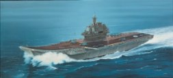 Italeri Russian aircraft carrier Admiral Kuznetsov 1:720