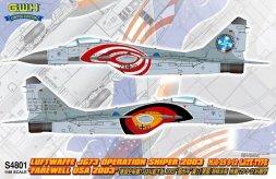 MiG-29 Fulcrum A Late - Luftwaffe JG.73 1:48