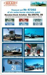 Russian Deck Aviation - Su-25UTG, Su-39
