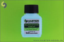 Blackening Agent for photo etched parts and brass barrels